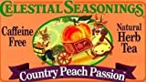 Celestial Seasonings Herb Tea Ctry Peach Passn 20 Bag