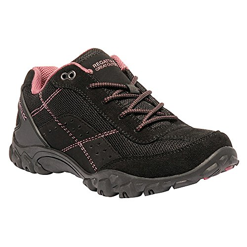 Regatta Lady Stonegate, Women's Low Rise Hiking Boots Black (Blk/Roseblsh)
