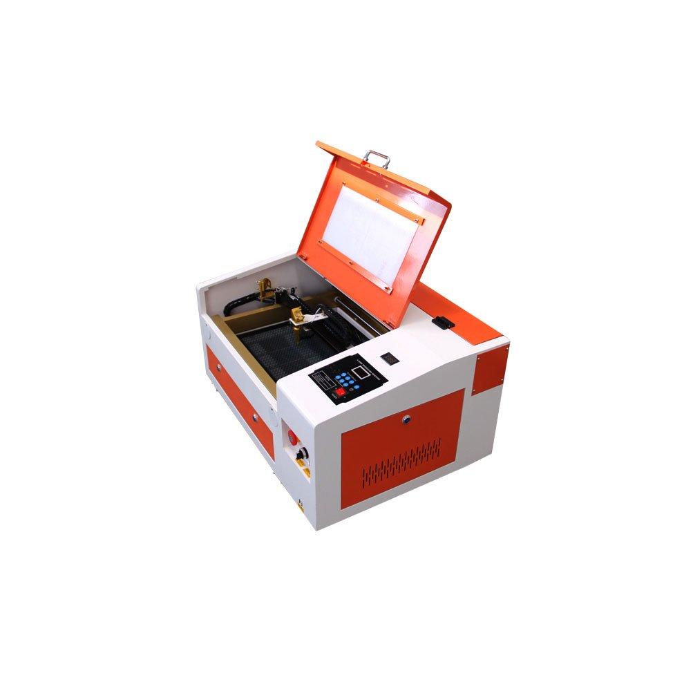 Ten de High Upgraded Versión CO2 300 * 400 mm 40 W/50 W/60 W 220 V Laser Engraving Cutting Machine with USB Port., TH-CO2-430-60W-FBM: Amazon.es: Bricolaje ...