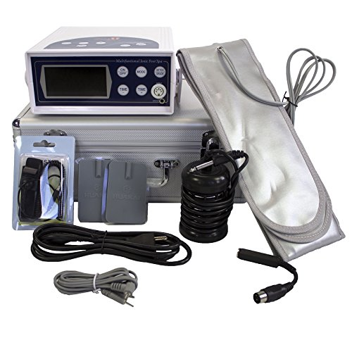 Color LCD Display Ion Cleanse Detox Foot Spa Bath With Acupuncture HK-807 by My Detox Foot Bath