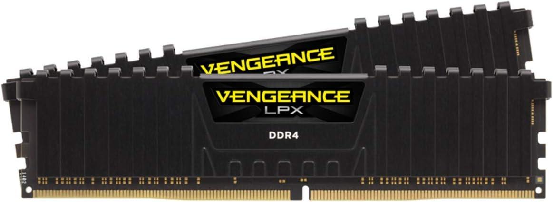 ذاكرة جهاز كمبيوتر مكتبي فينجيانس من كورساير من نوع ذاكرة الوصول العشوائي الديناميكية دي دي ار 4 16GB (2 x 8GB) CMK16GX4M2A2666C16