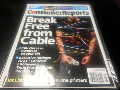 Consumer Reports Magazine - Break Free From Cable Issue - May 2014