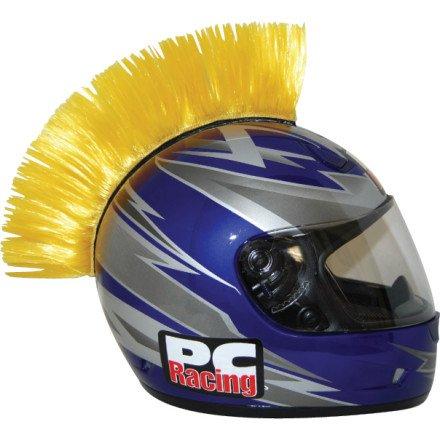 PC Racing Helmet Mohawk (YELLOW)