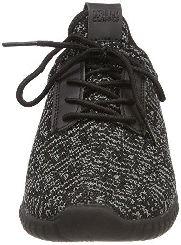Urban Multicolore Mixte Baskets Classics Shoe Runner Adulte Light grey black Knitted 828 black wWFRqwZrS