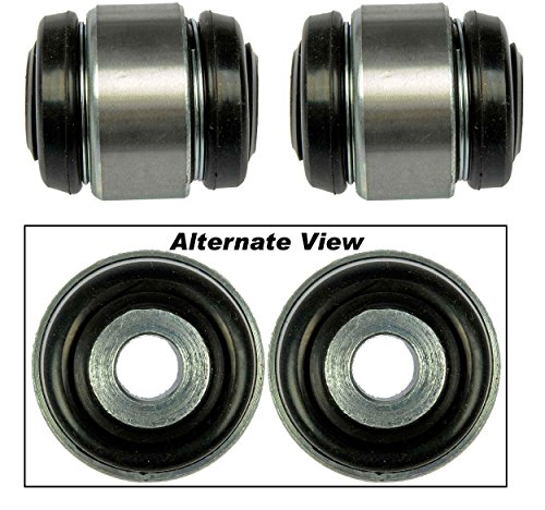 APDTY 016631x2 Rear Suspension Frame Knuckle Bushing Set Includes Upper & Lower Bushings Fits Rear Left or Rear Right (Repairs GM 21019254, 90496700, 4567244)