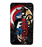 Fiobs Designer Back Case Cover for Samsung Galaxy Core 2 G355H :: Samsung Galaxy Core Ii :: Samsung Galaxy Core 2 Dual (Avenger Villan Hero Captain America USA )