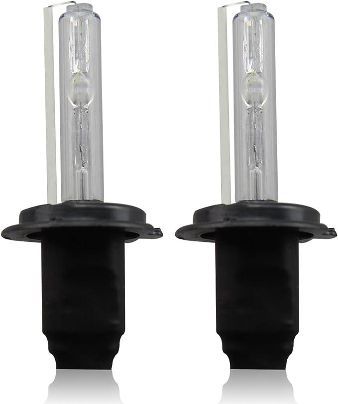 2 X H7 Hid Leuchtmittel Lampe Xenon 35 W 6000 K 3200lm 12 V Weiß Auto Beleuchtung