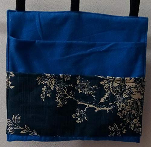 Blue Bag Pouch Storage Walker Wheelchair Stroller Grocery Cart etc. from Craft and Sewing Box