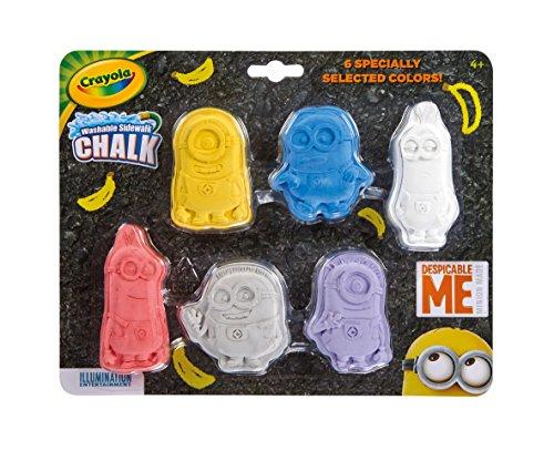Crayola Despicable Me Washable Chalk (Shaped Chalk)