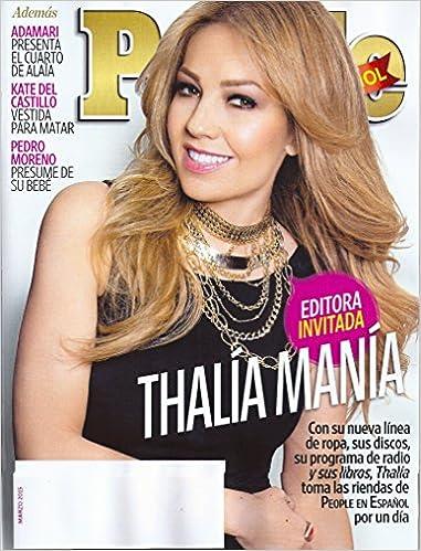Thalia * Adamari Lopez * Kate del Castillo * Enrique Iglesias * Christian de la Fuente * People en Espanol Periodico/Magazine: Armando Lucas Correa: ...
