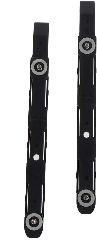 2pcs New Black Chassis Hard Drive Mounting Plastic Rails for Cooler Master TC