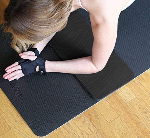 YogaPaws Yoga Knee Pad - Yoga Pad for Knees, Elbows, Wrists, Joint Comfort - Natural Rubber