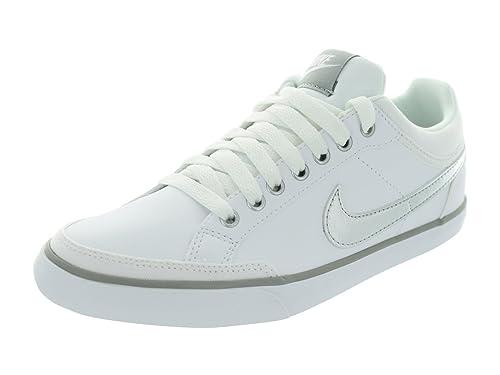 Nike Women s Capri III Leather Casual Shoes 579619-100 8 US White   Amazon.ca  Shoes   Handbags 0853665422