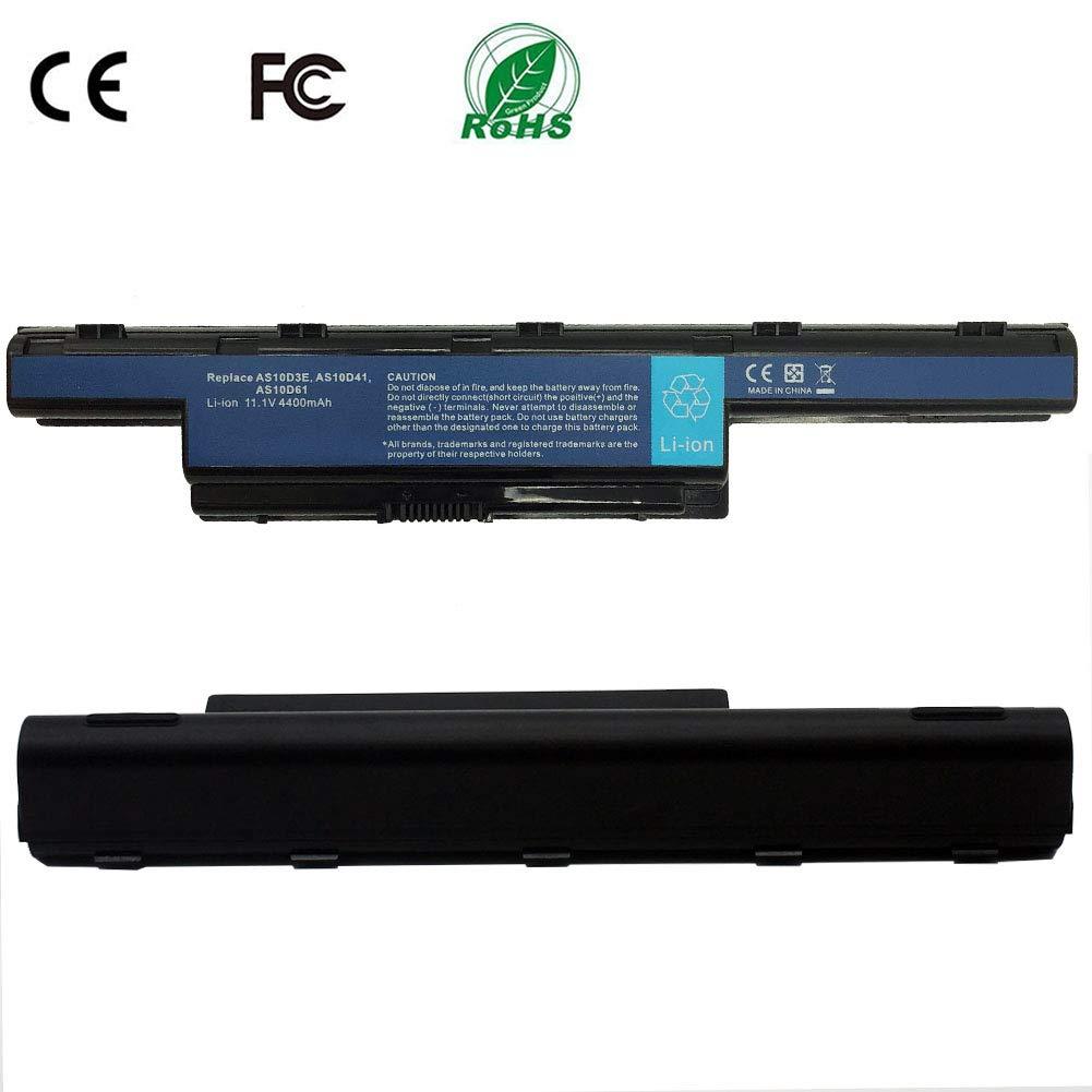 Bater/ía de Repuesto para Acer AS10D31 AS10D51 AS10D56 AS10D75 AS10D81 AS10D61 AS10D41 AS10D73 AS10D71 AS10D3E Aspire 5250 5733z 5750 7741 5733 5755 5253 11.1V 4400mAh 48wh 6 Celluless