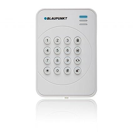 Blaupunkt KP-R1 Componente de Vigilancia - Teclado Inalámbrico con Rolling Code para sistemas de alarma, Blanco