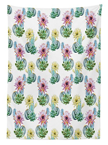 Review Cactus Decor Tablecloth by