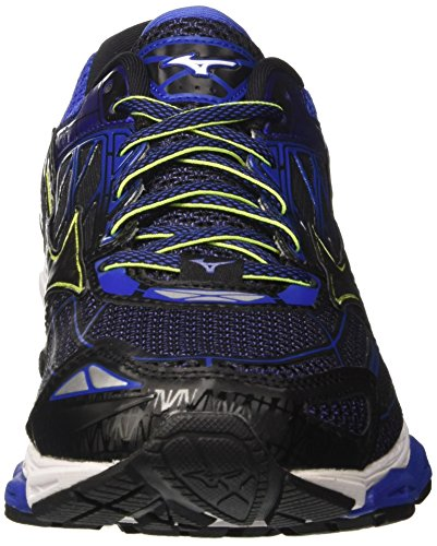 19 Mizuno Creation Wave Blackblackdazzlingblue Chaussures Homme Bleu Multicolore de Running Pvvwxq