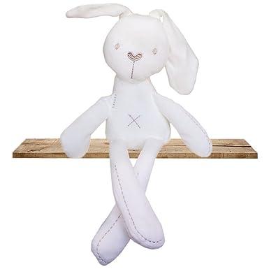 Amazon.com: Lindo conejo muñeca bebé suave Animal de la ...