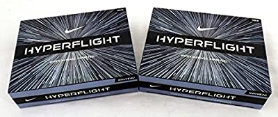 NIKE 2 Dozen Hyperflight Golf Balls 24 Total White Distance + Feel 2015