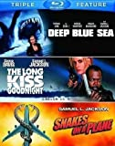 Samuel L. Jackson Triple Feature (The Long Kiss Goodnight / Deep Blue Sea / Snakes on a Plane) [Blu-ray] by Warner Home…