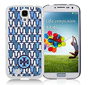 Fahionable Custom Designed Samsung Galaxy S4 I9500 i337 M919 i545 r970 l720 Cover Case With Tory Burch 60 White Phone Case