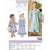 Kwik Sew K3423 Nightgowns Sewing Pattern, Size