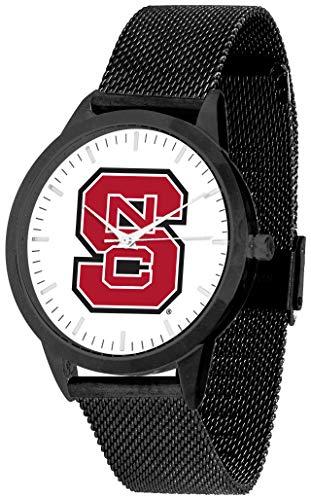 North Carolina State Wolfpack - Mesh Statement Watch - Black Band