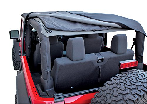 Rampage Products 109935 Black Frameless Soft Top Kit With