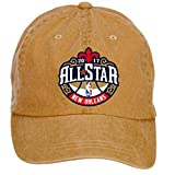 Baorol NBA All-Star Game 2017 Logo Adjustable Baseball Washed Cap