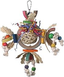 Super Bird Creations 12 by 10-Inch Space Station Bird Toy, Medium
