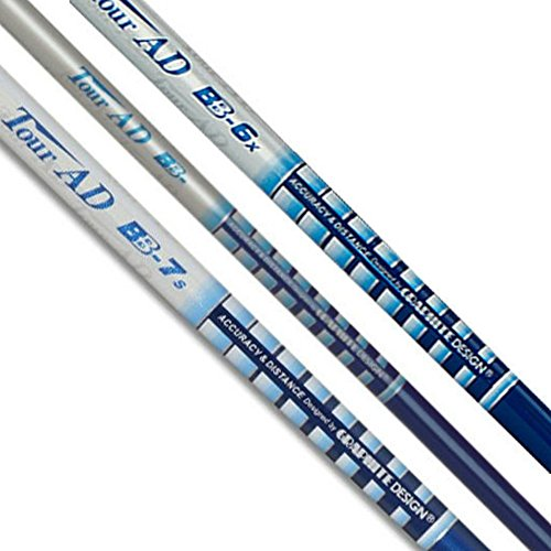 Graphite Design TOUR AD BB-5 Driver Shaft - Choose Adapter - Includes Grip & TSF Ball Marker (Adapter- Ping G, Stiff - 57gr)