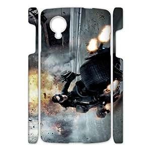 Batman YT0065054 3D Art Print Design Phone Back Case Customized Hard Shell Protection Google Nexus 5