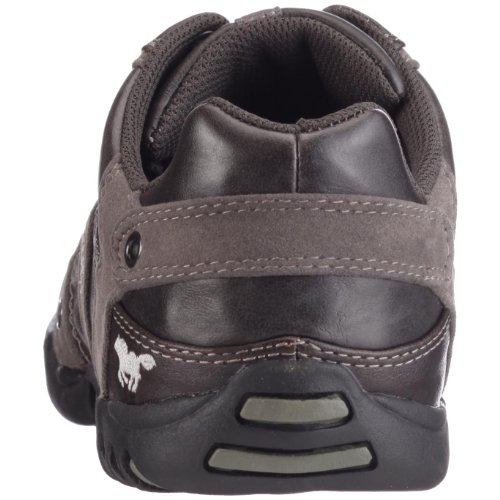 MustangSchnürhalbschuh - Zapatos Planos con Cordones Hombre Varios Colores - Schwarz (908 schwarz / anthrazit)