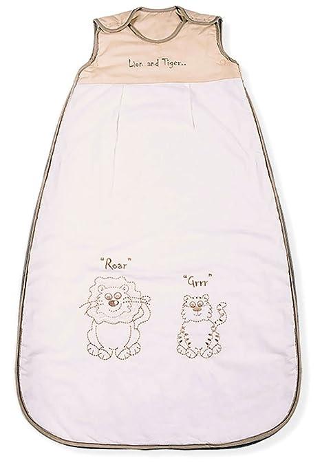 Sacos de Dormir para Bebé, Leon & Tigre, Kiddy Kaboosh Varios Tamaños, Ligero