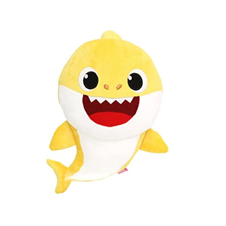 Amazon Com Pinkfong Baby Shark Official Singing Plush Toys Games