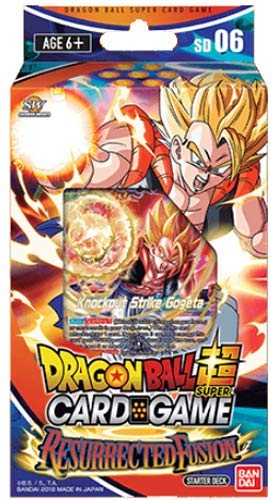 Dragon Ball Super TCG Resurrected Fusion Deck Series 5 Starter Deck - 51 Cards