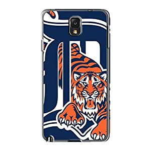 Great Hard Phone Covers For Samsung Galaxy Note 3 With Provide Private Custom High Resolution Detroit Tigers Series AshtonWells