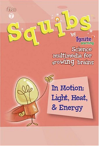 Squibs Science Disc 7 - In Motion:  Light, Heat, & Energy