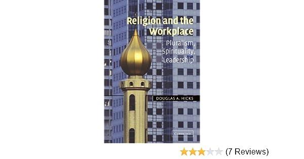 religion and the workplace hicks douglas a
