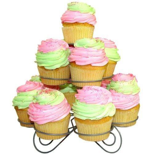 Sorbus Spiral Cupcake Stand Cupcakes