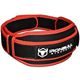 Weight Lifting Belt - High Performance Neoprene Back Support - Light Weight & Heavy Duty Core Support (Large)