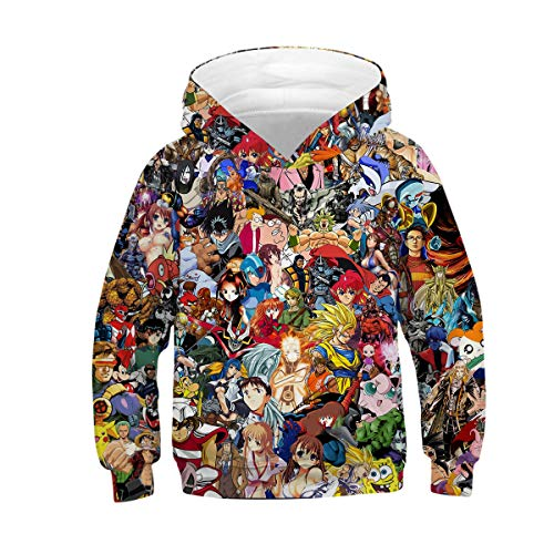 - Azuki Anime Hoodies for Kids