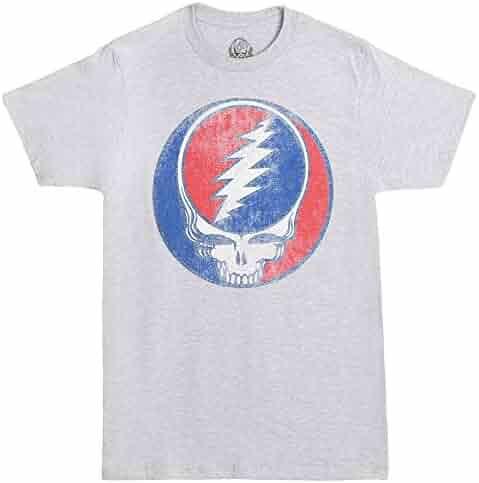 Ripple Junction Grateful Dead Steal Your Face Vintage Adult T-Shirt