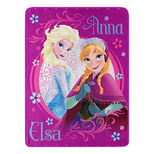 "Disney Frozen, ""Loving Sisters"" Micro Raschel Throw"