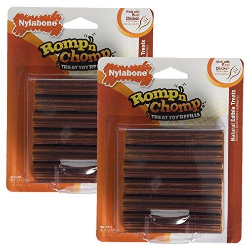 (Nylabone Romp 'N Chomp Toy Treat Refill, 24 Count)