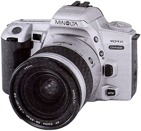 Minolta Dynax 404si Plata de cámara réflex con AF 3,5-5, 6/28-80mm ...
