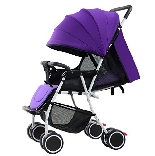 YBL Lightweight stroller Can sit and lie down fold Baby carriage Four seasons apply The choice of city Comfort and safety Suitable for children 0-3 years old