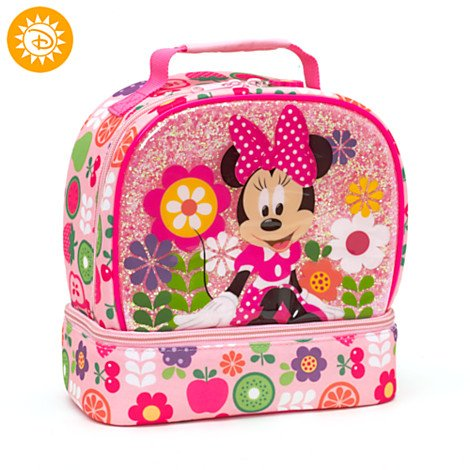 Authentic Disney Store - Minnie Mouse Lunch Bag Cartoons & Comics