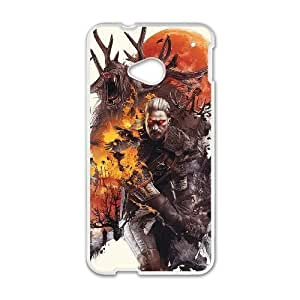 HTC One M7 Phone case White The Witcher3 Wild Hunt KKSD6388371