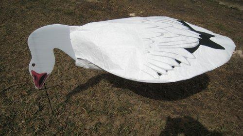 Sillosocks Snow Goose Feeder Decoy (12-Pack), White